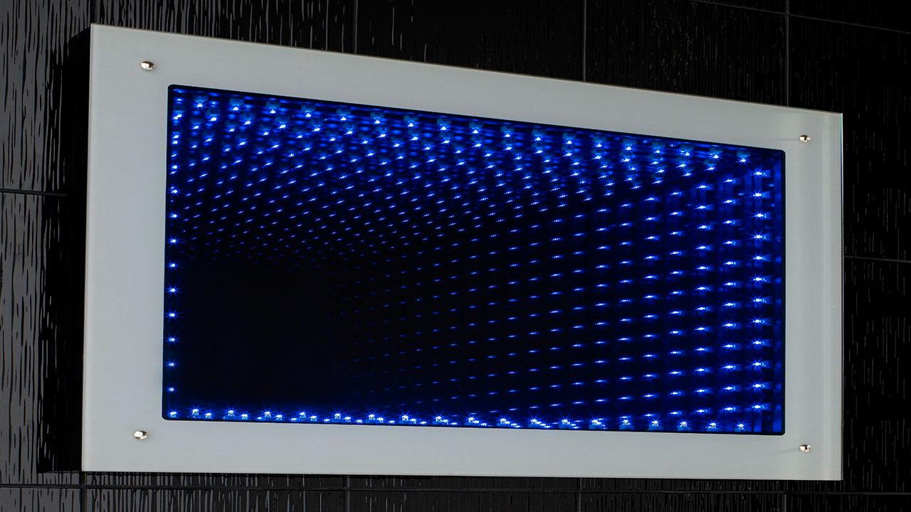 Яркая вода - 3D зеркала Столик Круглый