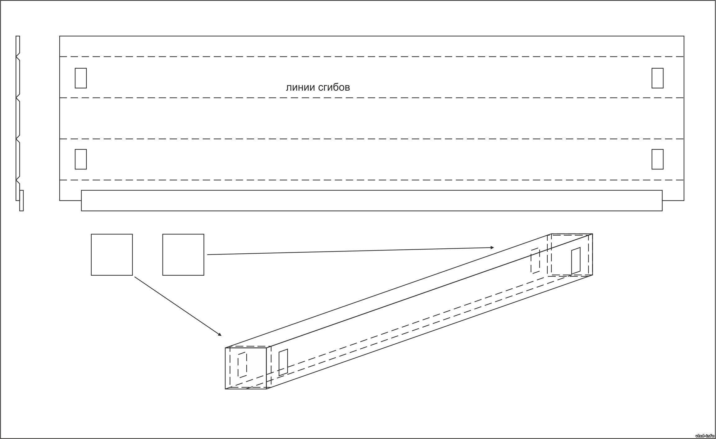 схема сборки светильника для аквариума морского
